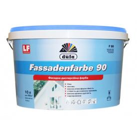 Краска фасадная DUFA Fassadenfarbe F 90 белая 7 кг