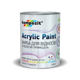 Краска для откосов KOMPOZIT 0,8 л