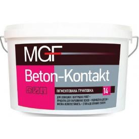 Грунтовка пигментированная MGF Beton-Kontakt розовая 14 кг