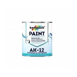 Краска для бассейнов KOMPOZIT АК-12 голубая 0,9 кг