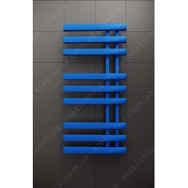 Комбинированный полотенцесушитель Magnum Синий 1200x500