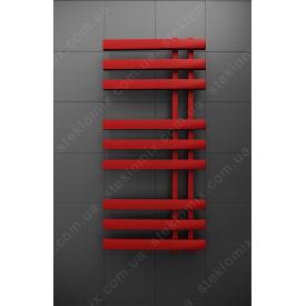 Комбинированный полотенцесушитель Magnum Красный 1200x500