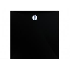 Поддон для душевой кабины MIRAGGIO BRUGGE 900 ЧЕРНЫЙ из кварцевого песка