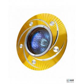 Светодиодный светильник Right Hausen Узор MR16 Золото