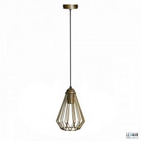 Потолочный подвесной светильник NL 537 BN бронза