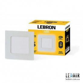 Светодиодный светильник Lebron Квадрат 24W-6500K