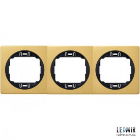 Рамка трехместная Aling-Conel EON E6703GE
