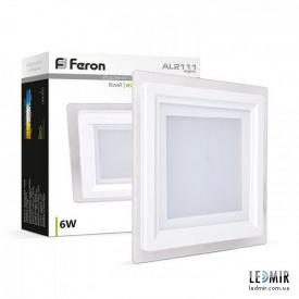 Светодиодная панель Feron AL2111 6W-5000K