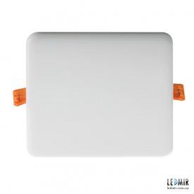 Светодиодный светильник Kanlux AREL Квадрат 14W-3000K белый безрамочный