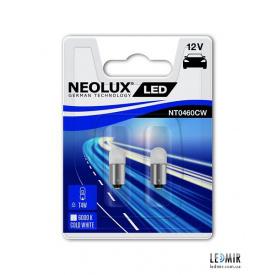 Світлодіодна Автолампа NEOLUX T4W 12V 0,5W BA9S комплект (2шт)