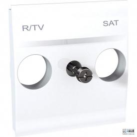 Накладка Schneider Unica TV-R SAT белая