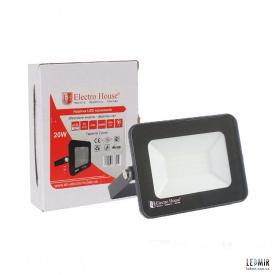 Светодиодный прожектор ElectroHouse 20W-6500K