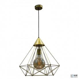 Потолочный подвесной светильник NL 0541G GRID золотой