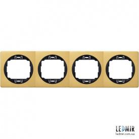Рамка четырехместная Aling-Conel EON E6704GE