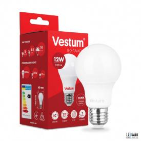 Світлодіодна лампа Vestum A60 12W-E27-4100K
