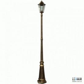 Накладной садово-парковый светильник Lemanso PL1101 античное золото