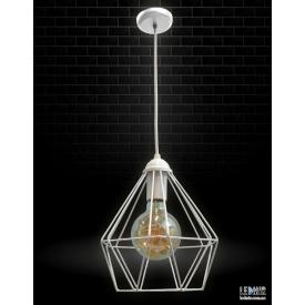 Потолочный подвесной светильник NL 0537 W GRID белый