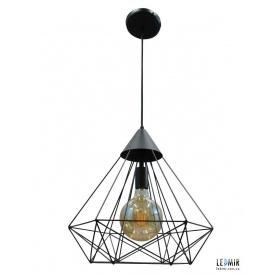 Потолочный подвесной светильник NL 0541 GRID черный