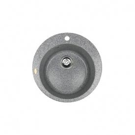 Гранітна мийка Idis Fusion №1 490 Mont Blank