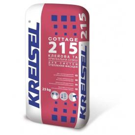 Клей для теплоизоляции армирующий KREISEL COTTAGE 215 25 кг
