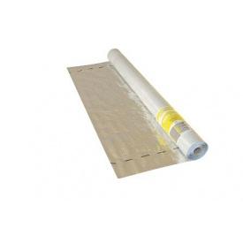 Пароізоляційна плівка армована тепловідбивна MASTERPLAST Masterfol SOFT ALU-Е 75 м2