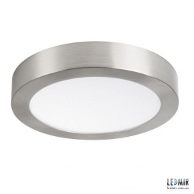 Светодиодный светильник Kanlux CARSA Круг накладной 18W-4000K никель