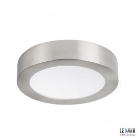 Светодиодный светильник Kanlux CARSA Круг накладной 12W-4000K никель