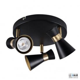 Накладной светильник Kanlux MILENO EL-3O B-AG GU10 Черный
