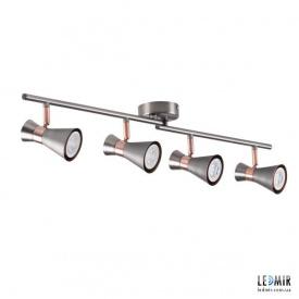 Накладной светильник Kanlux MILENO EL-4I ASR-AN GU10 Серебряный