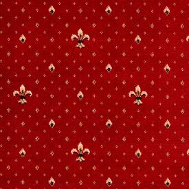 Бытовой ковролин Balta Wellington Fleur de Lys 4957 10 Regel Red