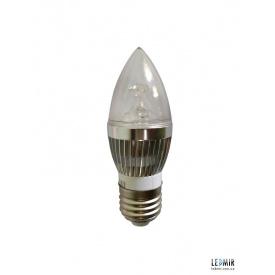 Светодиодная лампа Expert C37 24V E27-4W-3000K