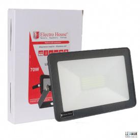 Светодиодный прожектор ElectroHouse 70W-6500K