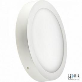 Светодиодный светильник Lezard Круг накладной Downlight 18W-4200K