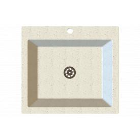 Гранітна мийка Idis Comfort plus №7 520x580 Snow