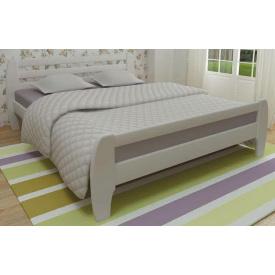 Кровать из массива сосны Милан 160х200 Mebigrand белый