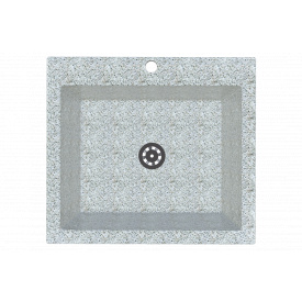 Гранітна мийка Idis Comfort plus №7 520x580 Fashion gray