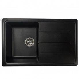 Гранітна мийка Arkana №24 780х500 Чорний