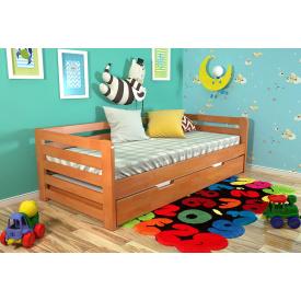 Кровать из массива Бука Немо Арбор Ольха