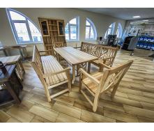 Деревянная мебель из массива ясеня от производителя, комплект Furniture set - 41