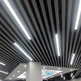 Реечный подвесной потолок (УкрСтеля)