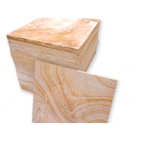 Плитка песчаник для дорожек 60х60х5 см