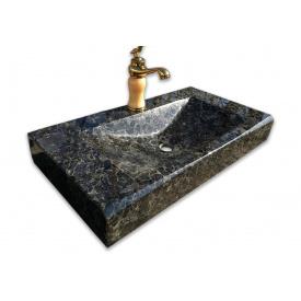 Умивальник з лабрадориту Граніт-Поліс 50х35х10 см