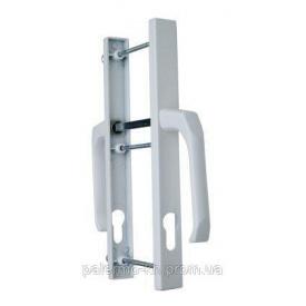Нажимные ручки для металлопластиковых и алюминиевых дверей 92/28 мм белый