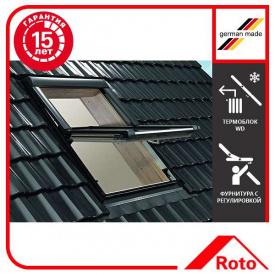 Вікно мансардне Designo WDF R69G H N WD AL 06/14