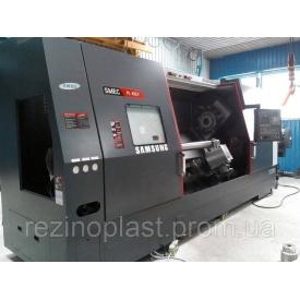 Металлообработка токарным многоцелевым станком SAMSUNG SMEC PL 45 LY с возможностью фрезерования и сверления