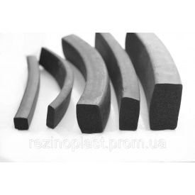 Шнур резиновый 3,2х10 мм ТМКЩ ГОСТ 6467-79 (прямоугольного сечения)