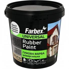 Гумова фарба Farbex біла (3.5 кг)