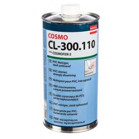 Ацетатный очиститель ПВХ профилей Cosmofen 5 сильный 1 л