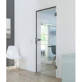 Двери межкомнатные стеклянные Huga от Hormann 900х2000х140 цена за блок