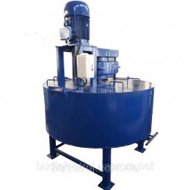 Цементорозмішувач примусової дії БСП 1000 литров
